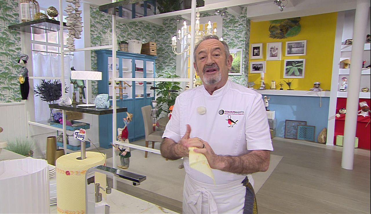 """Karlos Arguiñano desvela una """"muy buena noticia"""" sobre alimentación saludable"""