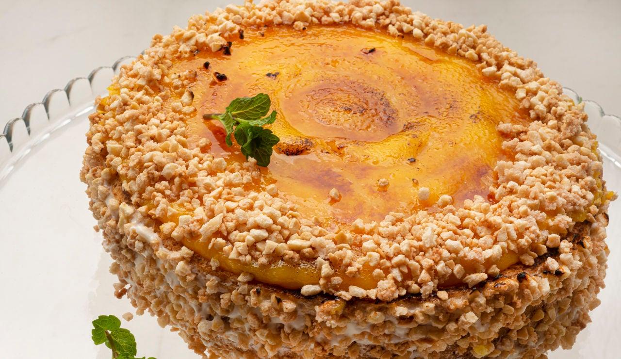 Eva Arguiñano elabora la tarta más conocida de España: la de San Marcos