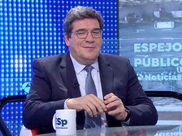 José Luis Escrivá, ministro