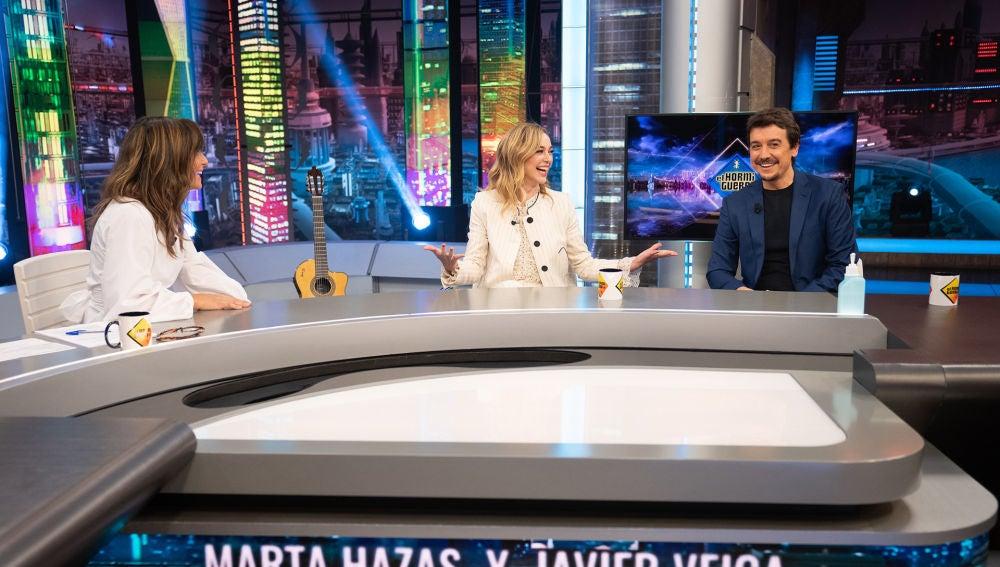 """La dura crítica de Javier Veiga: """"Marta Hazas morrea mal en ficción"""""""
