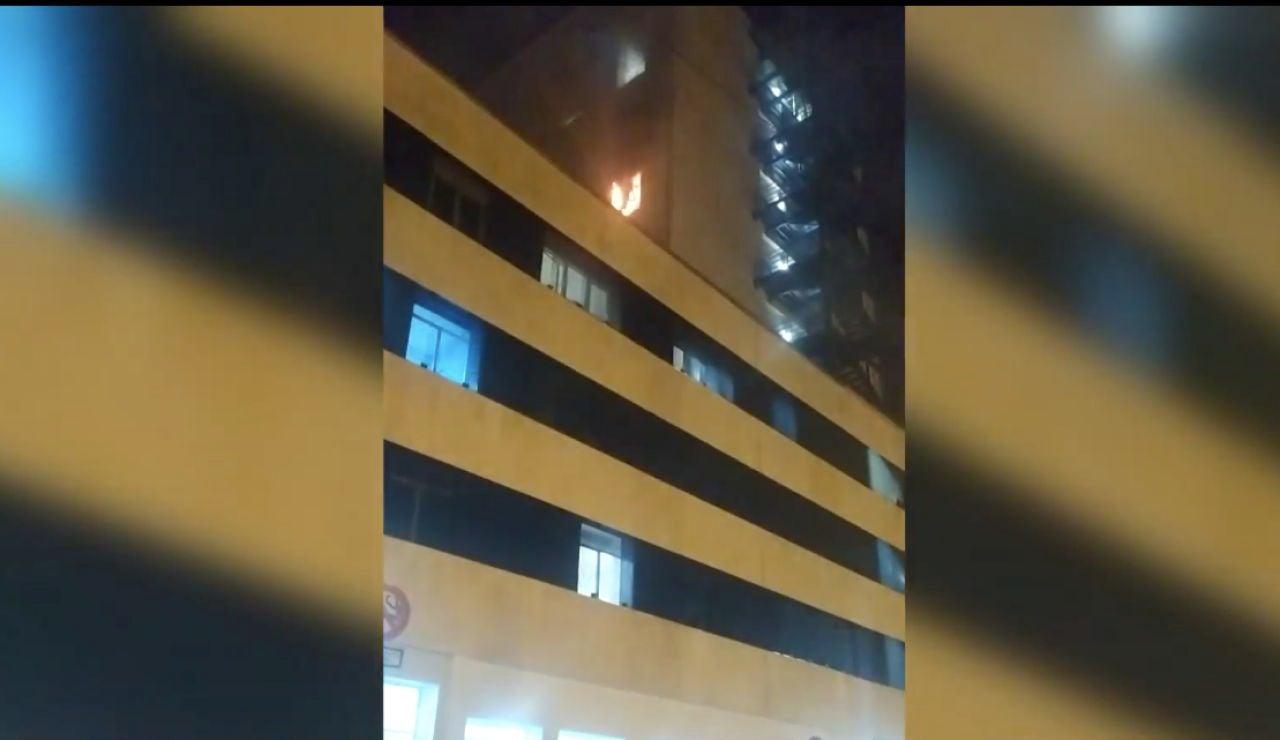 Incendio en el hospital de Cádiz