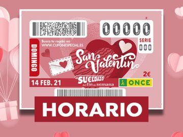 Sorteo Extra de San Valentín 2021 de la ONCE