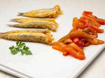 Receta de anchoas con morrones, de Karlos Arguiñano