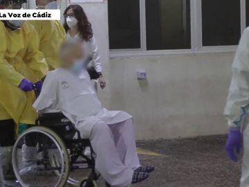 El paciente de coronavirus que provocó el incendio del hospital de Cádiz