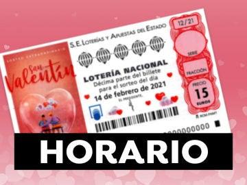 Sorteo Extraordinario de San Valentín 2021: Horario y dónde ver el sorteo de la Lotería Nacional en directo