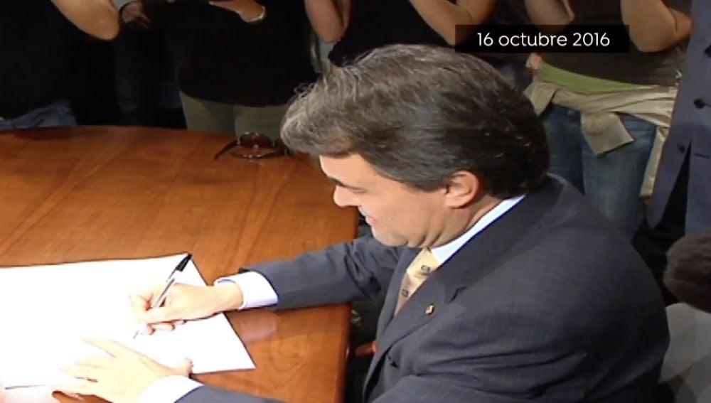 Artur Mas en una imagen de archivo