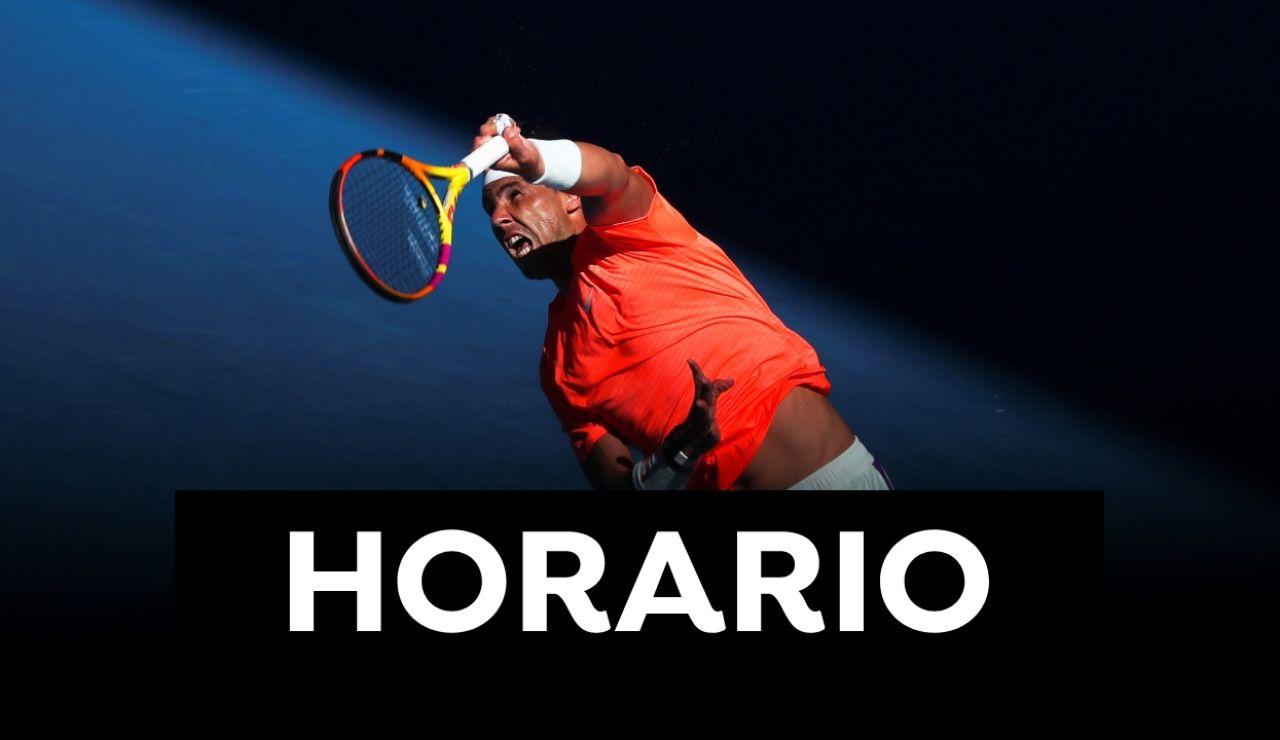 Rafa Nadal - Michel Mmoh: Open de Australia 2021