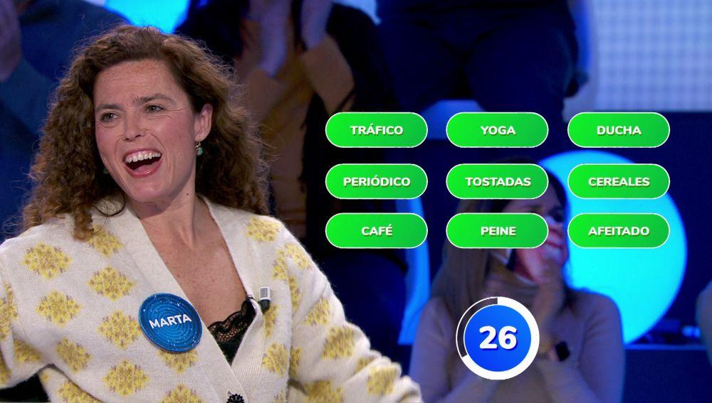 Siempre hay una primera vez: La concentración de Marta, clave para resolver el panel de '¿Dónde Están?'