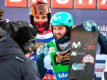 Lucas Eguibar se proclama campeón del mundo de boardercross de snowboard