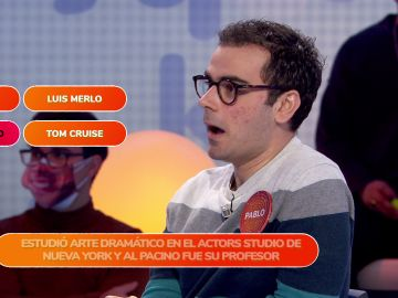 Una verdad sobre Pepe Navarro descoloca a Pablo en 'Una de Cuatro'