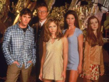 El reparto de 'Buffy, cazavampiros'