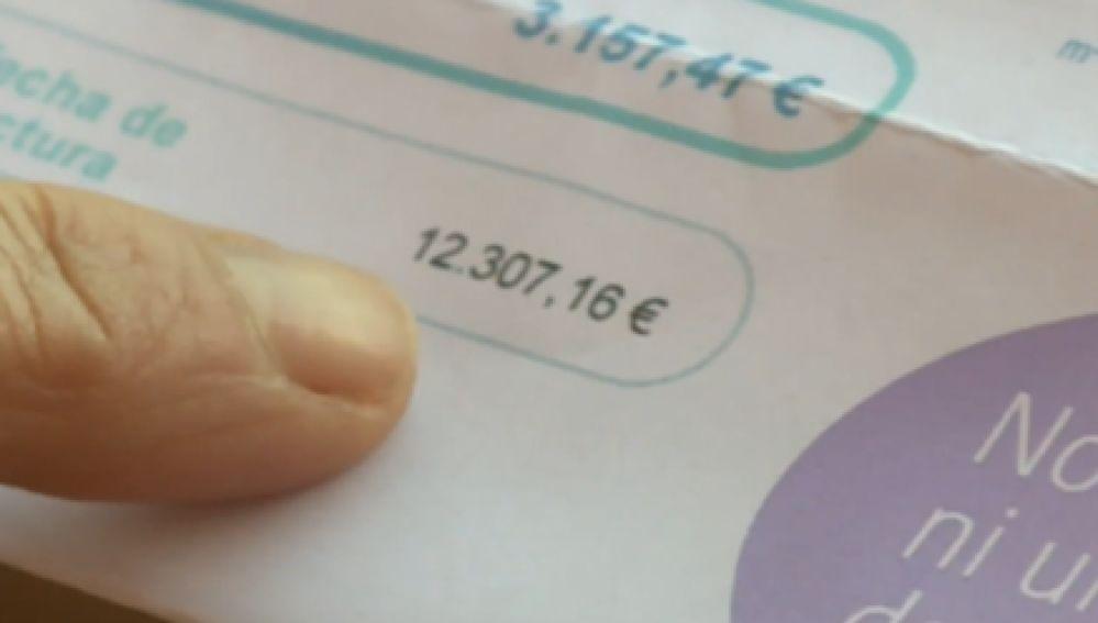 Una factura de 12.000 euros por consumir 6 millones de litros de agua