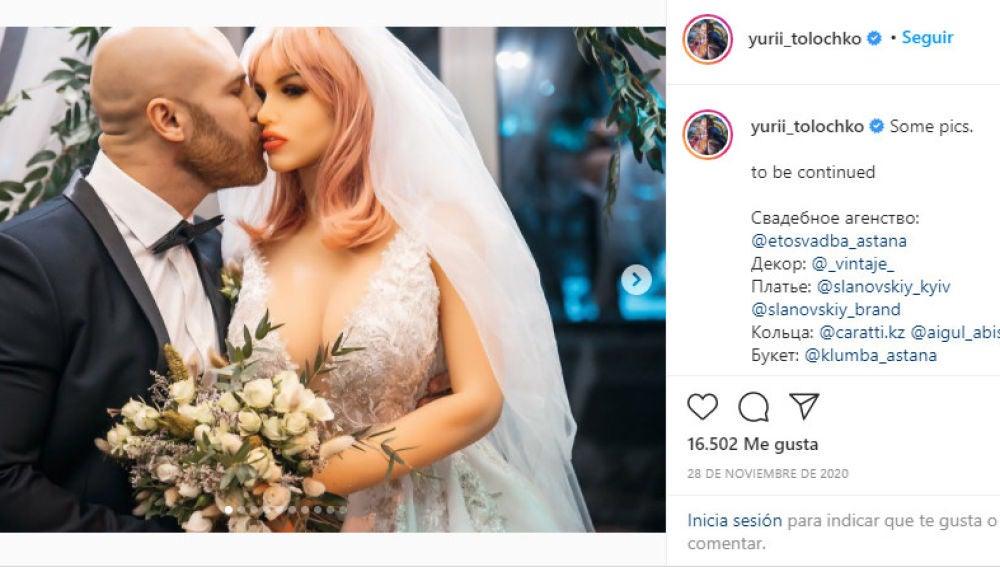 Instagram de @yuri_tolochko