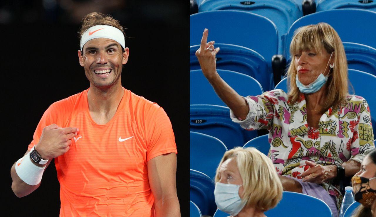"""La aficionado que hizo una peineta a Nadal en el Open de Australia: """"Es increíblemente aburrido"""""""