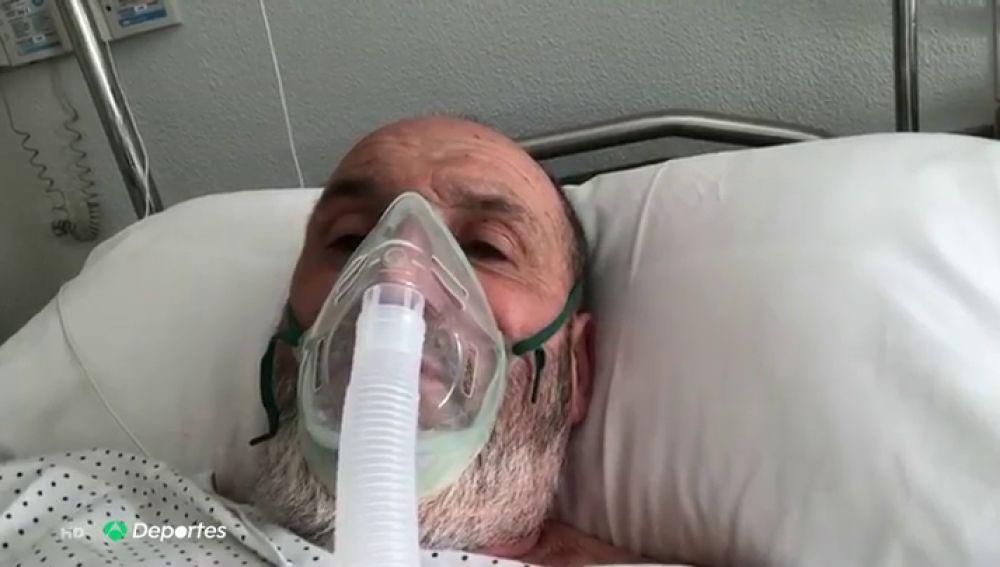 """Juanito Oiarzabal, ingresado con neumonía severa causada por el coronavirus: """"Haced caso a los médicos"""""""