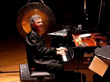 El pianista estadounidese Chick Corea durante su actuación en el Palau de Les Arts de Valéncia en marzo de 2020