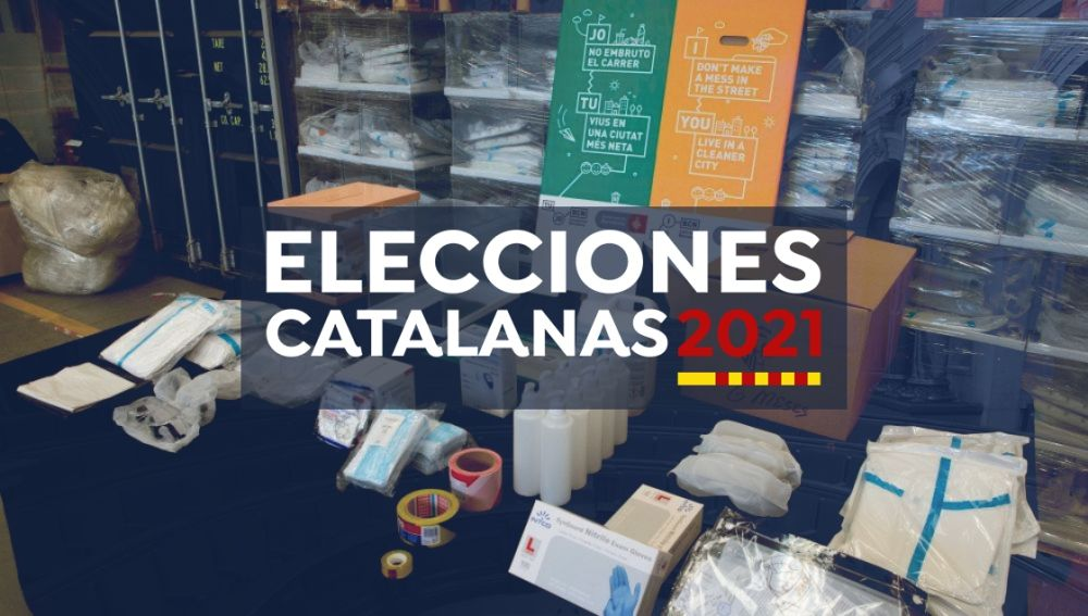 Elecciones catalanas 2021: Estos son los protocolos frente al coronavirus a aplicar en Cataluña