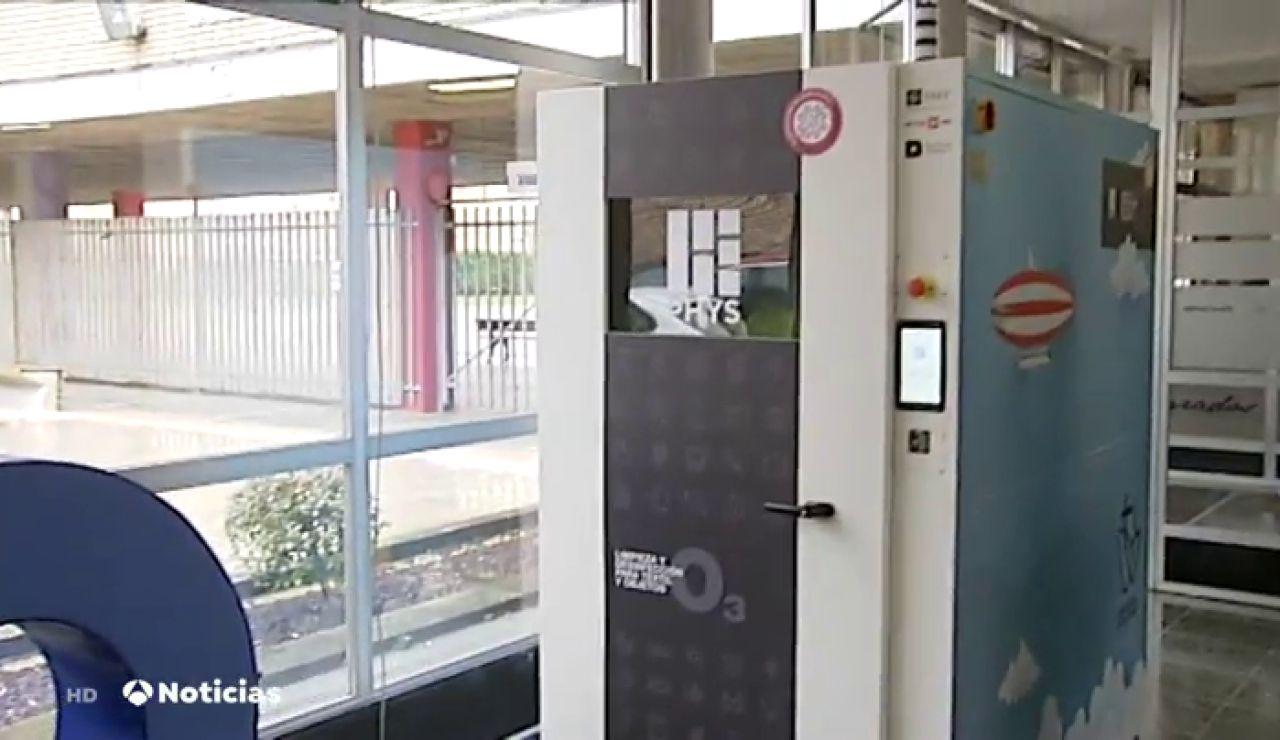 Máquina neutralizadora del coronavirus