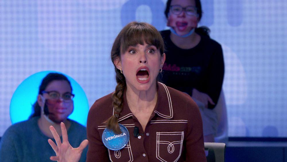 """Verónica Echegui se queda a un segundo de hacer historia en 'Pasapalabra': """"¡Qué parto!"""""""