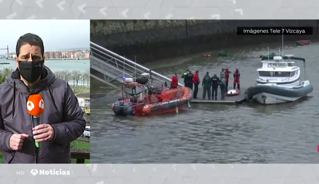 La Ertzaintza investiga la muerte de una mujer en Sestao (Vizcaya) y encuentra el cadáver del marido en el río
