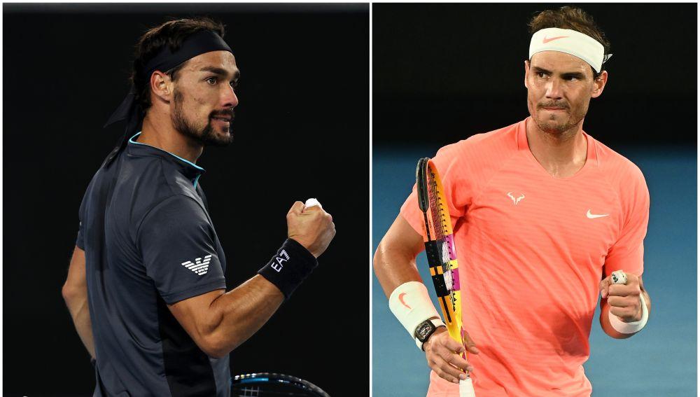 Rafa Nadal - Fabio Fognini: Horario y dónde ver el partido de tenis del Open de Australia en directo