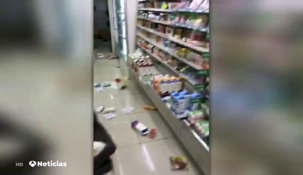 REEMPLAZO Un terremoto de 7,1 grados de magnitud sacude el este de Japón