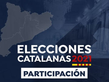 Datos de participación de las elecciones catalanas 2021