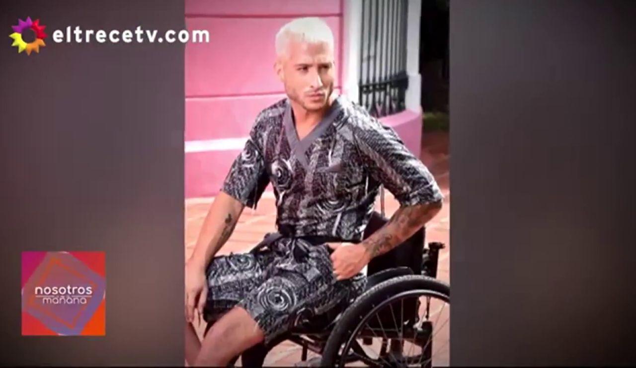 modelo silla de ruedas