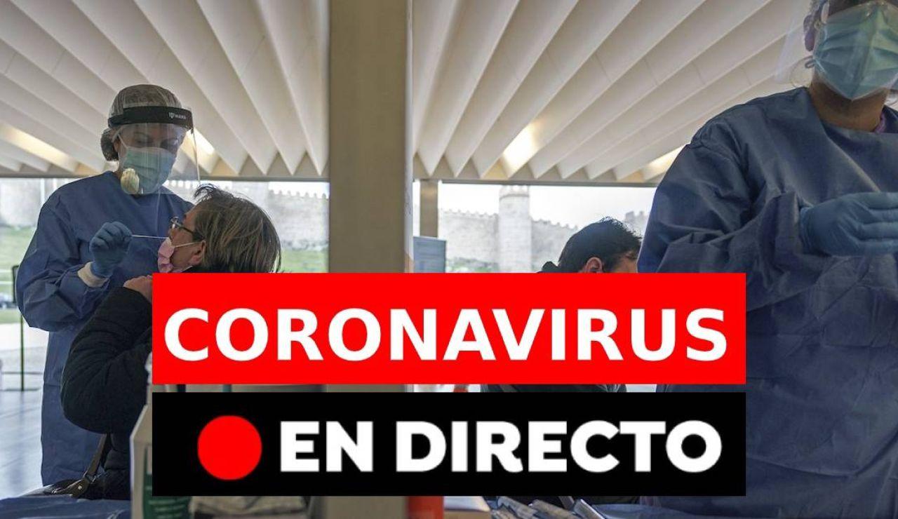Coronavirus España hoy: restricciones, vacuna y datos de contagios, en directo