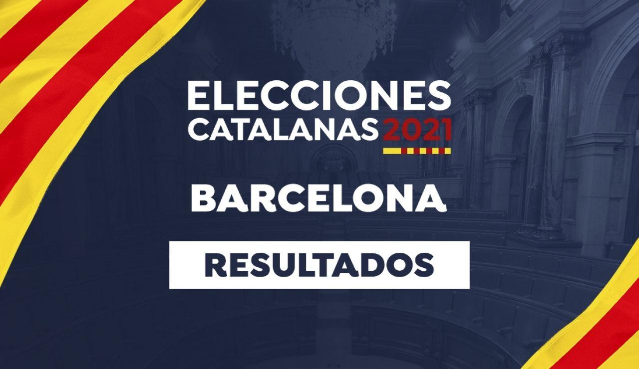 Resultado de las elecciones catalanas 2021 en Barcelona
