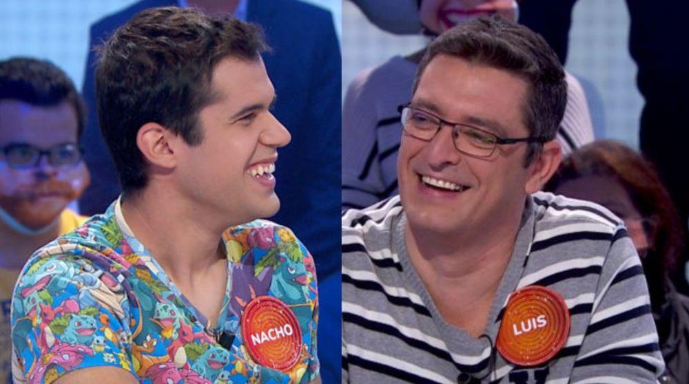 Nacho Mangut y Luis de Lama en 'Pasapalabra'