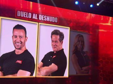Un duelo al desnudo entre Pablo Puyol y Jorge Sanz en el próximo programa de 'El Desafío'