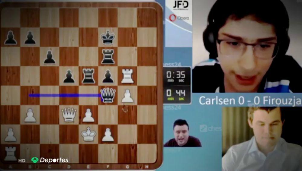 Pepe Cuenca y la forma más emocionante de comentar una partida de ajedrez