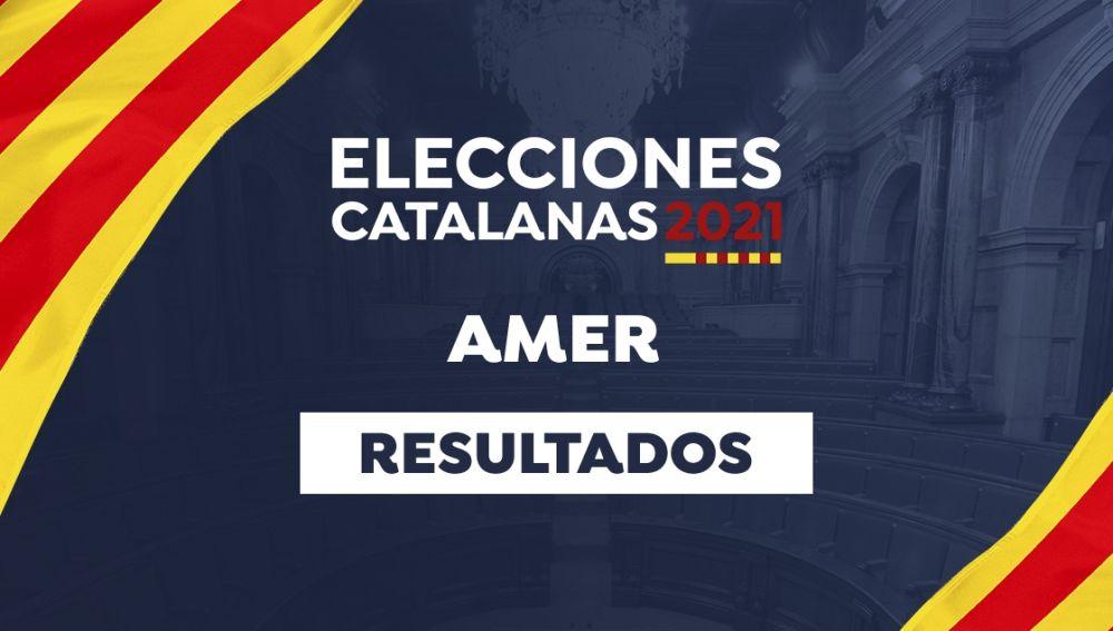 Resultado de las elecciones catalanas de 2021 en Amer: Votaciones, participación, resultado, escrutinio y última hora de las elecciones de Cataluña en Amer hoy