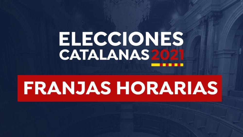 Horario Elecciones Cataluña 2021: Franjas horarias y grupos de votación