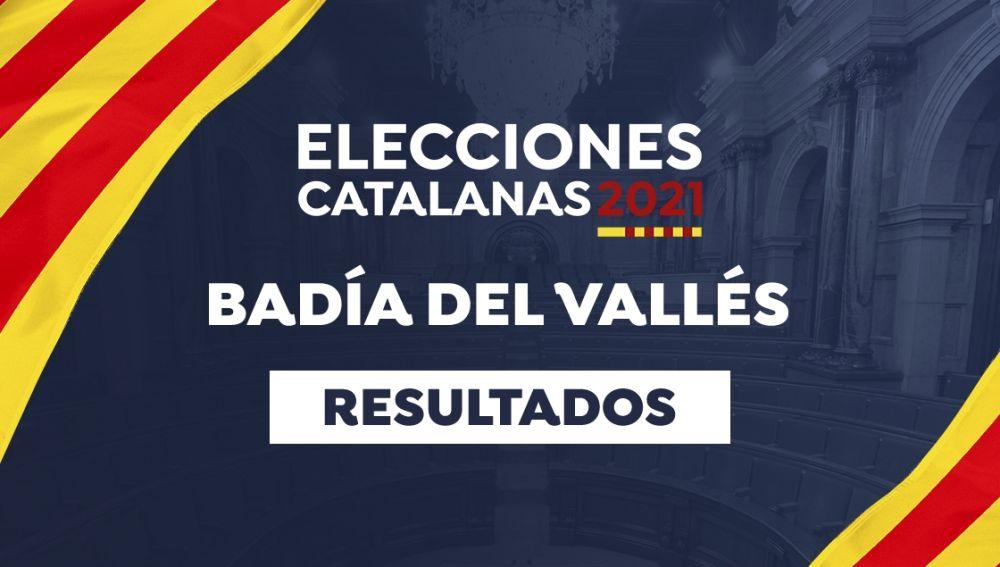 Resultado de las elecciones catalanas de 2021 en Badía del Vallés: Votaciones, participación, resultado, escrutinio y última hora de las elecciones de Cataluña en Badía del Vallés hoy