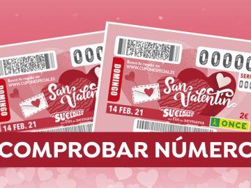 Comprobar ONCE: Resultado del sorteo de San Valentín del Sueldazo ONCE hoy 14 de febrero