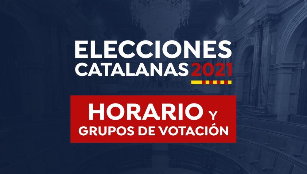 Horario Elecciones Cataluña 2021: Franjas horarias, colegios electorales y grupos de votación hoy