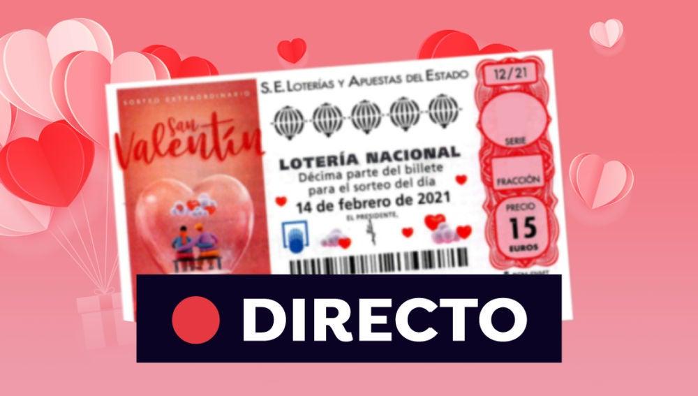 Comprobar Lotería Nacional Resultado Del Sorteo Extraordinario De San Valentín 2021 Del 14 De Febrero En Directo