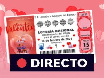 Comprobar Lotería Nacional: Resultado del Sorteo Extraordinario de San Valentín 2021 hoy 14 de febrero, en directo