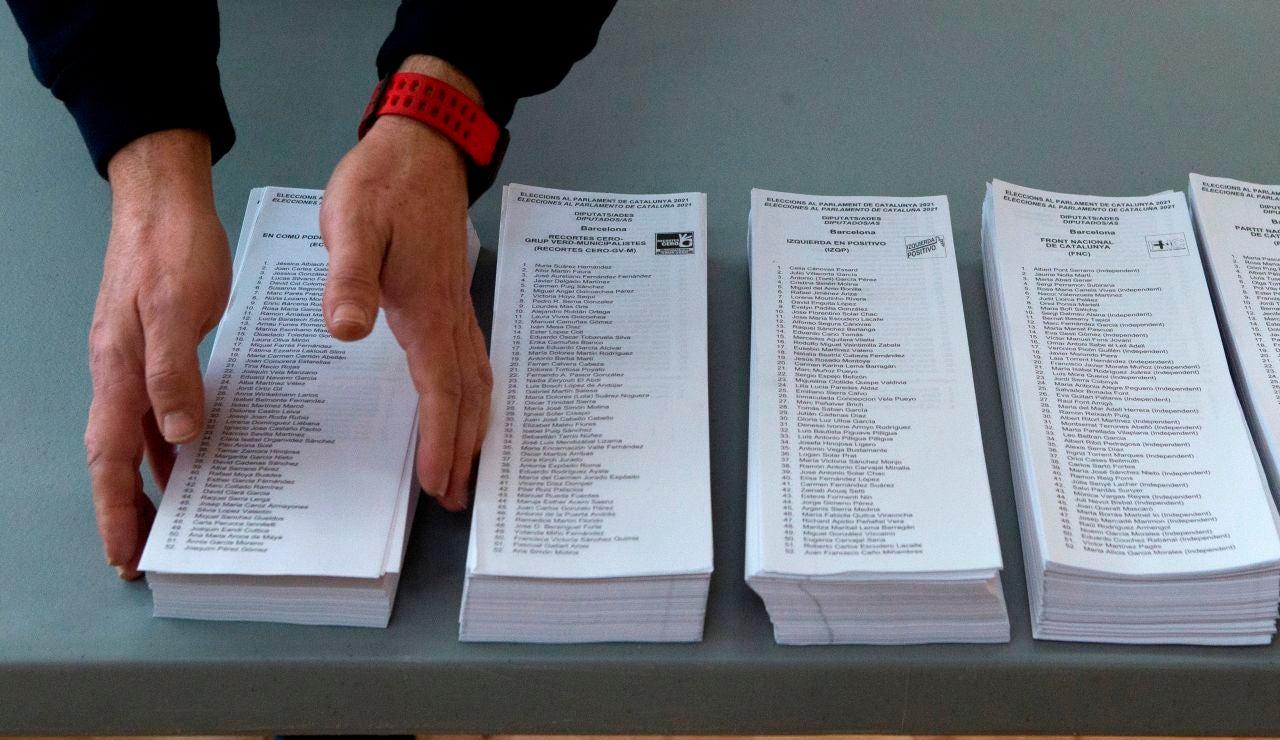Las franjas horarias para votar en las elecciones catalanas 2021