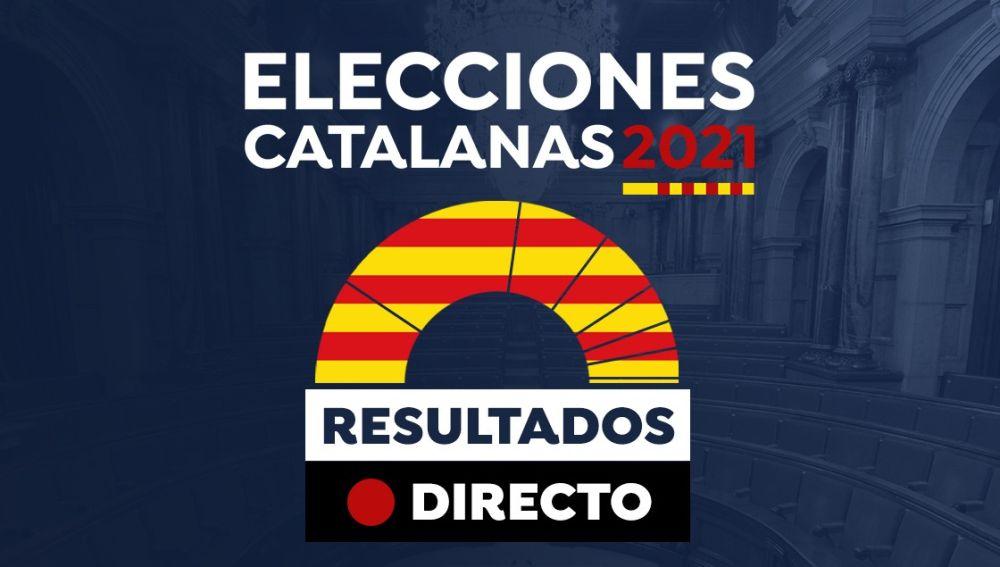 Resultados en directo elecciones catalanas 2021