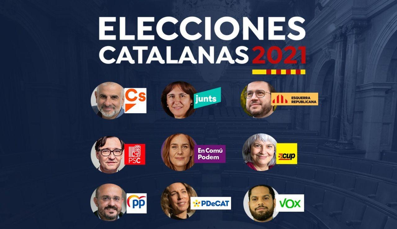 Candidatos a las elecciones catalanas