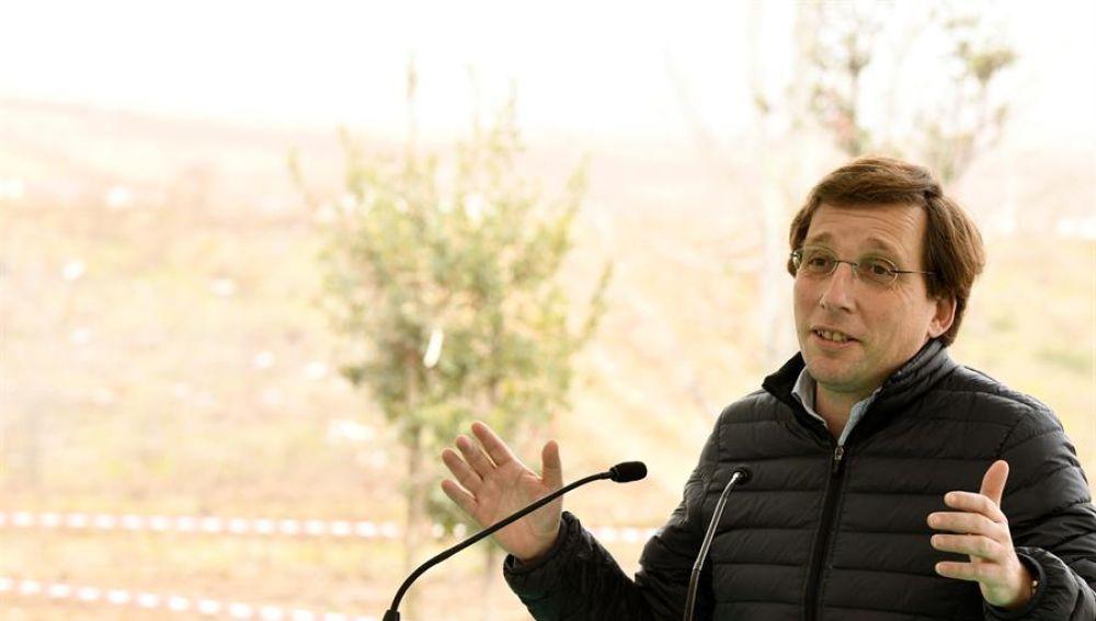 El alcalde de Madrid y portavoz nacional del PP, José Luis Martínez Almeida