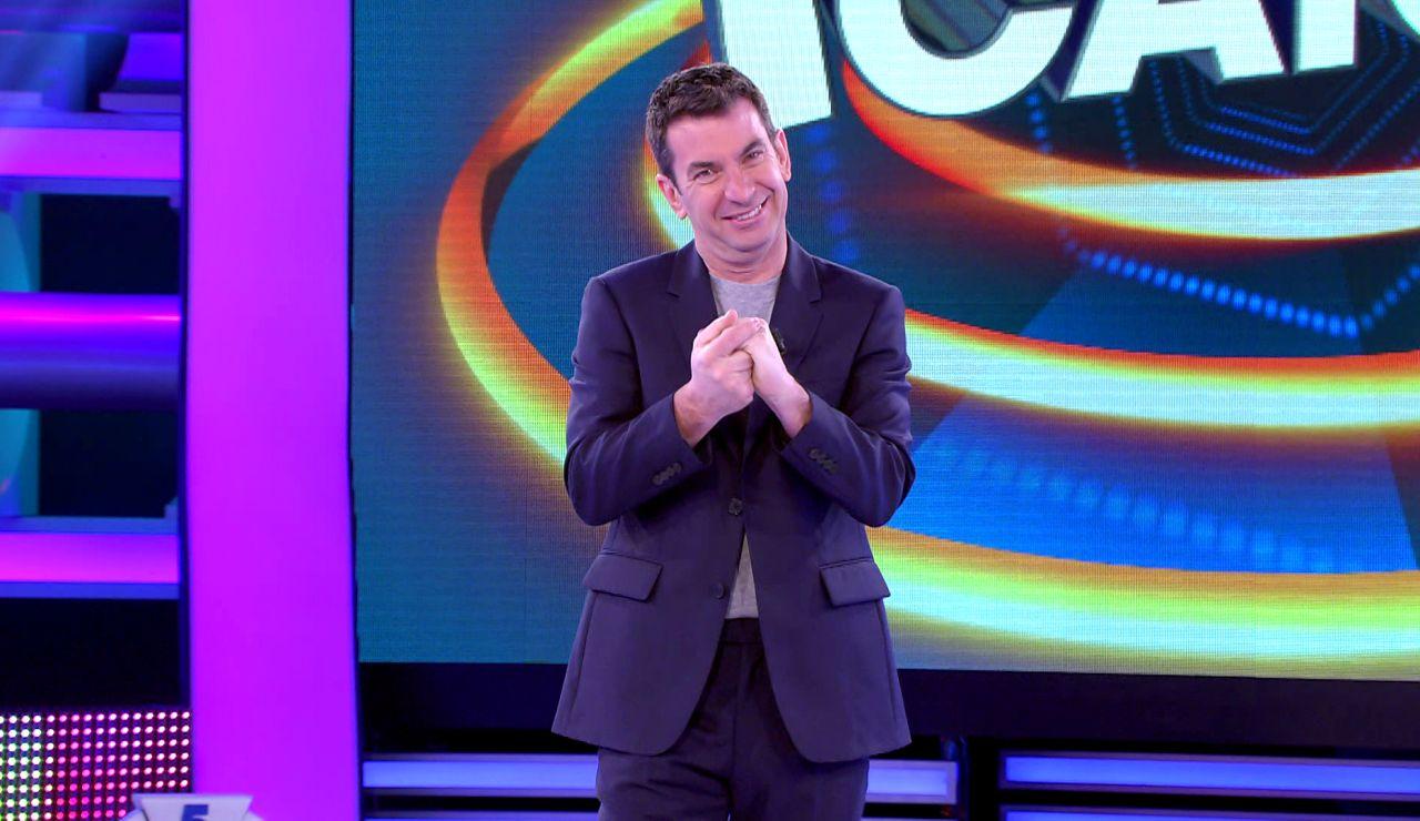 Arturo Valls explica las nuevas reglas de '¡Ahora caigo!': más monedas, un duelo final… ¡y hasta 300.000 euros en juego!