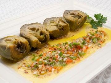 La receta saludable de Karlos Arguiñano: alcachofas con vinagreta de mostaza