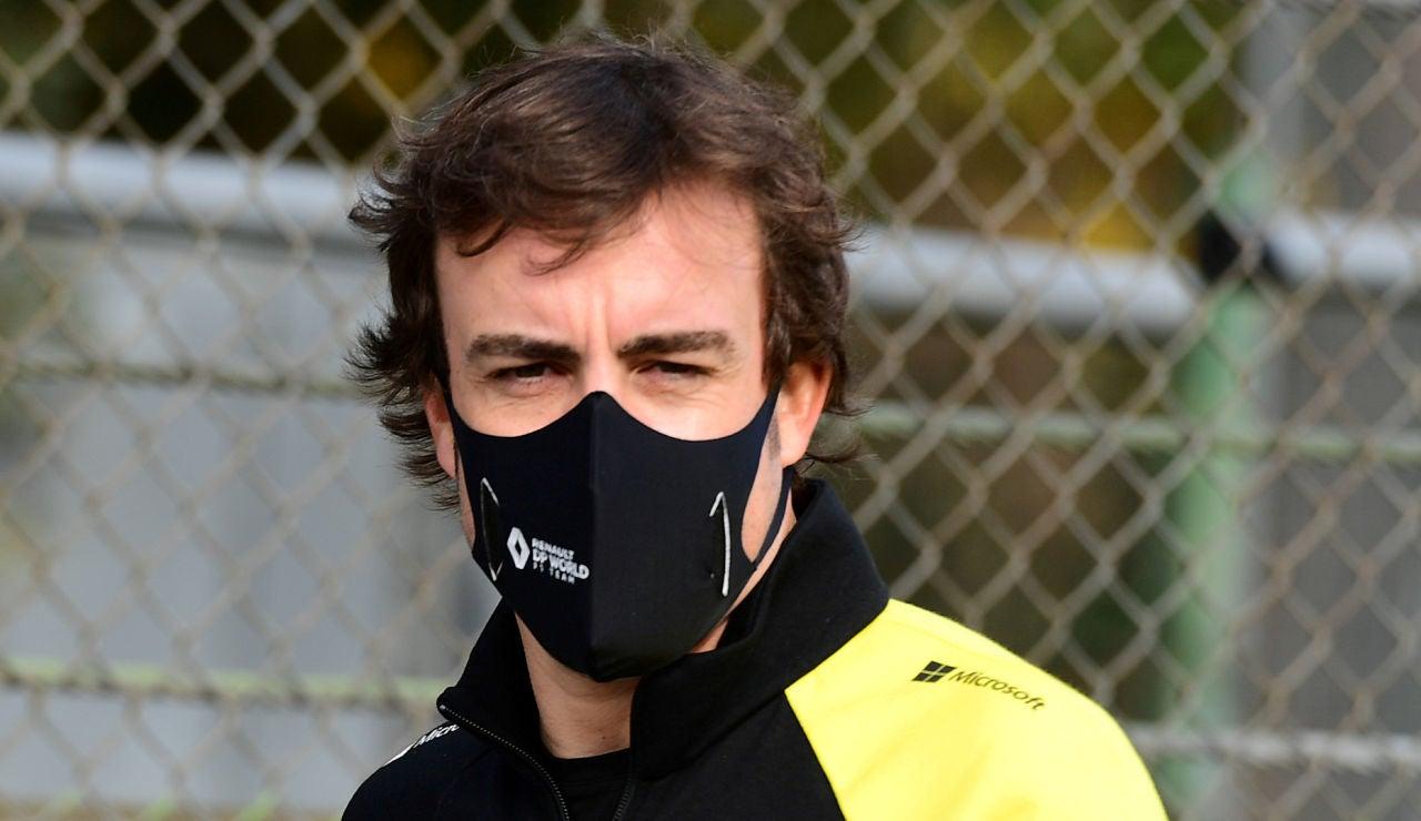 Fernando Alonso publica la primera imagen de su rostro tras su atropello en Lugano