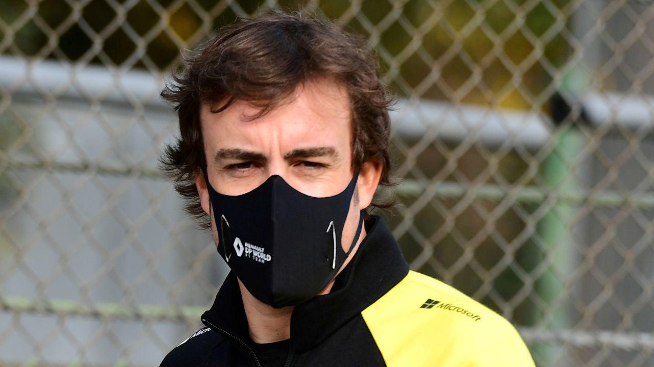Fernando Alonso no estará en la presentación del equipo Alpine de Fórmula 1