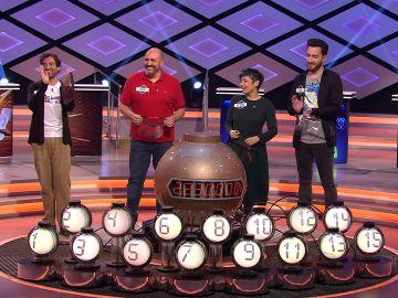 El cántico del público de '¡Boom!' previo a la bomba final al más puro estilo de 'La ruleta de la suerte'