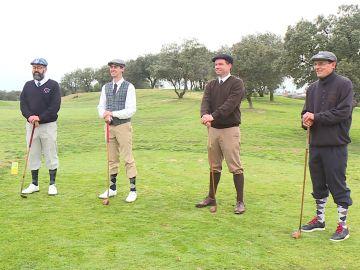 Recrean el golf tal y como se jugaba hace un siglo